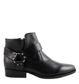 Minas Boots - Black Leather