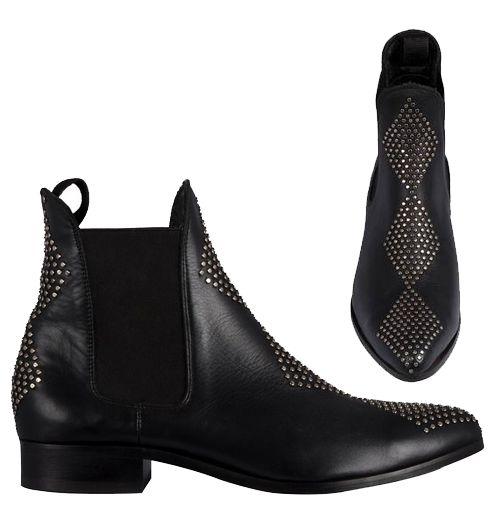 Cartel Manati Boots - Black Studs