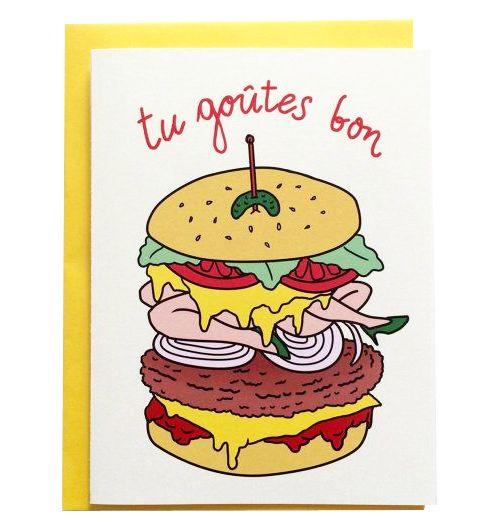 La façade Tu Goutes Bon Burger Carte