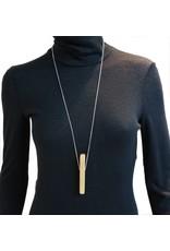 Louve Montreal Vertical Line Necklace