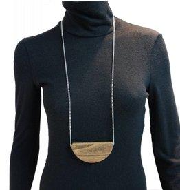 Louve Montreal Dark Halfmoon Necklace
