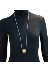 Louve Montreal Louve Montreal Small Leather Necklace - Black