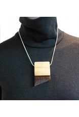 Louve Montreal Louve Montreal Fur Triangle Necklace