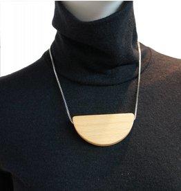 Louve Montreal Halfmoon Mini Necklace
