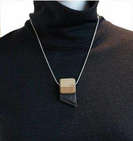 Louve Montreal Asymmetrical Necklace