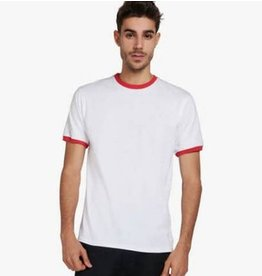Of Sharks and Men Dimitri T-Shirt - White/Red