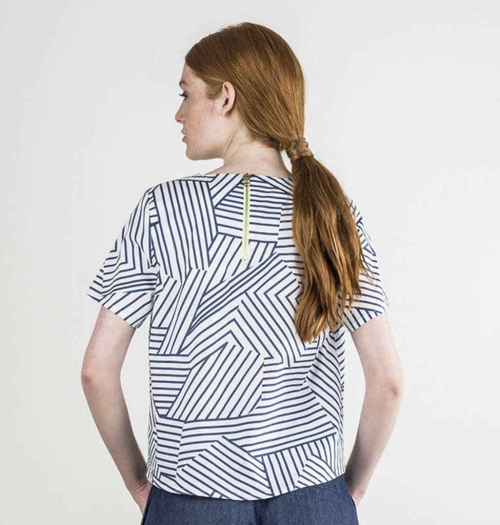 Bodybag Haut Paris - Imprimée Geo