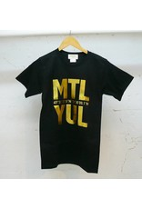 Bodybag Bodybag YUL T-shirt - Noir et Or