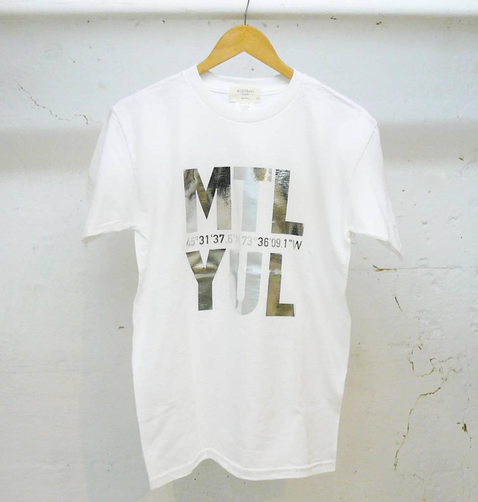 Bodybag Bodybag T-Shirt YUL  - Blanc