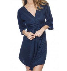 Sokoloff Lingerie Hana Kimono - bleu nuit