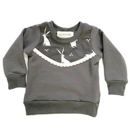 Supayana Grey Bunny Sweater