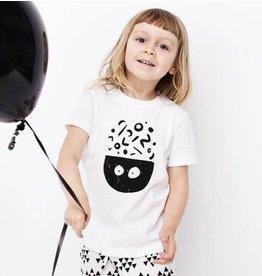 Blacksnaps T-shirt Nouilles - Blanc