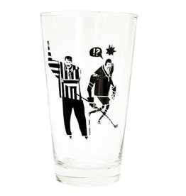 TOMA Hockey Ref Pint Glass