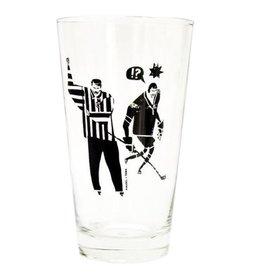 TOMA Hockey Ref Pint Glass