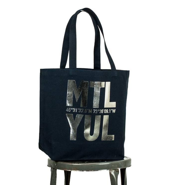 Bodybag YUL Sac - Noir et Argent