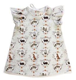 Supayana Lace Trim Animal Dress