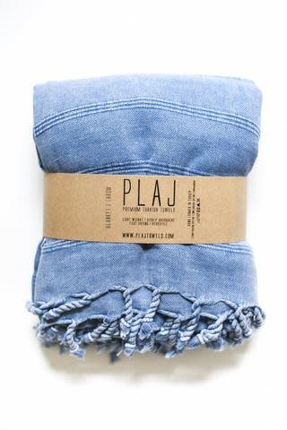Plaj Plaj Texada Stone Washed Blanket