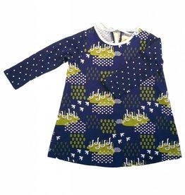 Supayana Duck Print Long Sleeve Dress