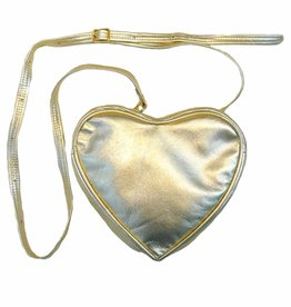 Noemiah Gold Heart Bag