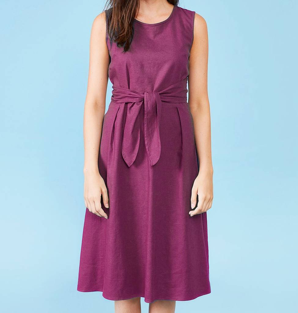Dagg & Stacey Luka Dress - Plum