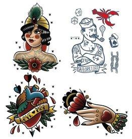 Les tatoués Tatouages Temporaire - Petite