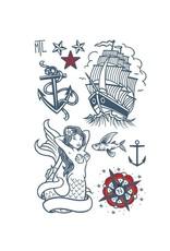 Les tatoués Les Tatoués Temporary Tattoos - Large