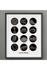 Darveelicious 8x10 Print 12 love/hate Mtl
