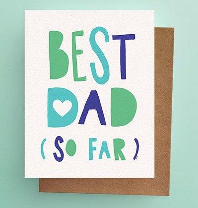Darveelicious Darveelicious Best Dad Greeting Card
