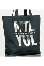 Bodybag YUL Tote - Navy & Silver