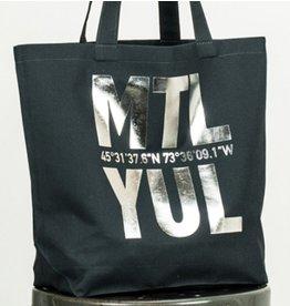 Bodybag YUL Tote - Marine & Argent