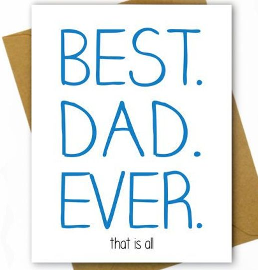 Hellafresh designs Best Dad Ever Carte