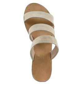Cartel Manta Sandale Beige