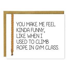 Hellafresh designs Funny Gym Class Carte