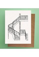 Darveelicious Darveelicious Stairs Postcard