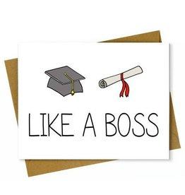 Hellafresh designs Like a Boss Carte