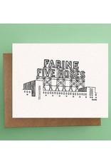 Darveelicious Farine Five Roses Postcard