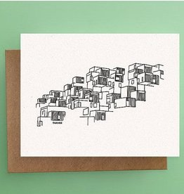 Darveelicious Habitat 67 Carte Postale
