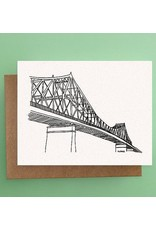 Darveelicious Darveelicious Pont Jacques-Cartier Carte Postale