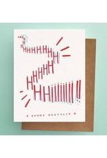 Darveelicious HIIIII Nouvelle Greeting Card