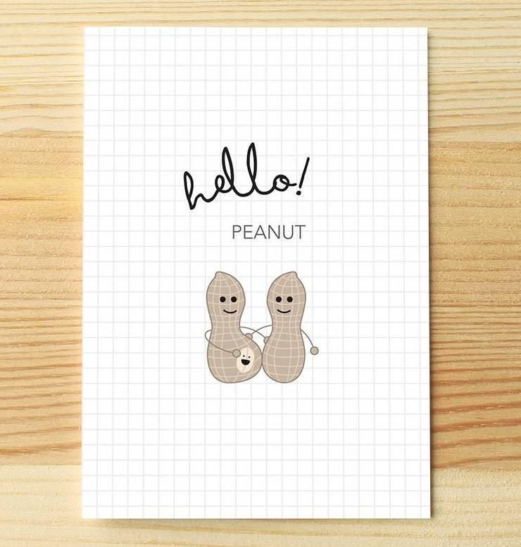 I'll know it when I see it Hello Peanut Greeting Card