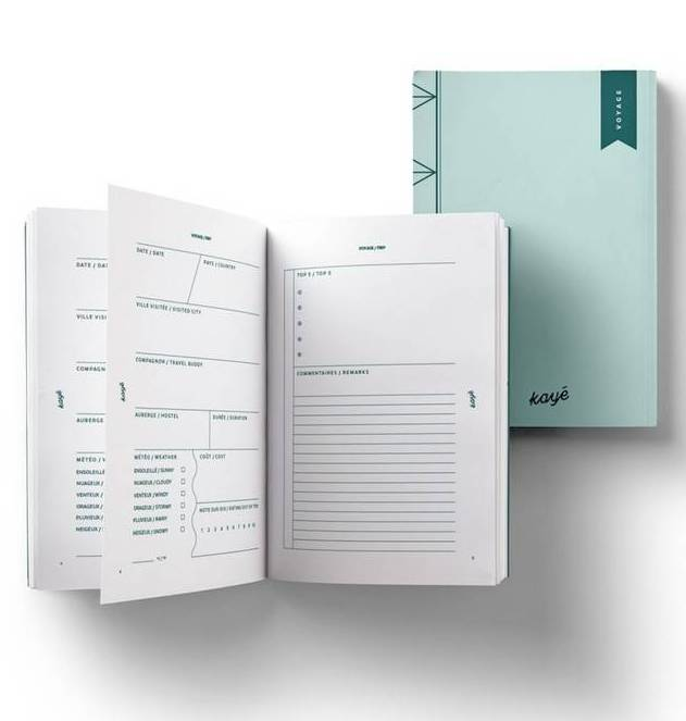 Kayé Kayé Travel Notebook