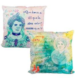 Fotofibre Feminist Throw Pillow
