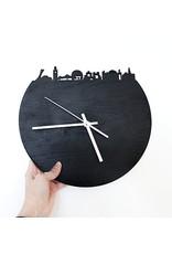 Alice in Montréal Paysage Montréal Horloge en Ardoise