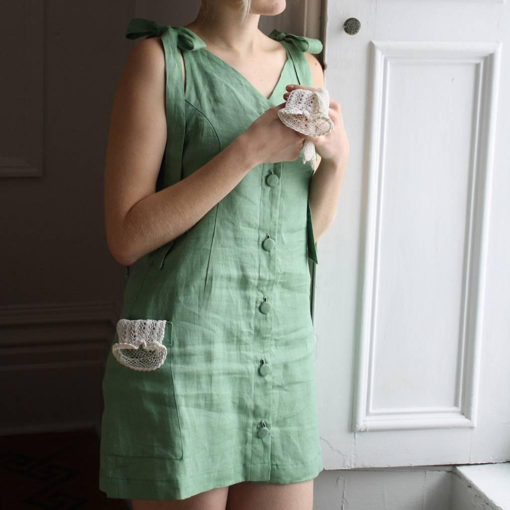 Noemiah Robe Virginie - Vert