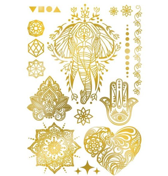 Les tatoués Tatoue Gold
