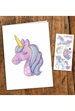 Pico tatoo Unicorn Greeting Card