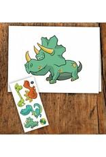 Pico tatoo Pico Tattoo Carte Dinosaure