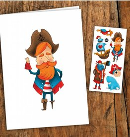 Pico tatoo Carte Pirates
