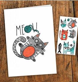 Pico tatoo Carte Chat