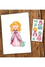 Pico tatoo Pico Tattoo Princesses Greeting Card